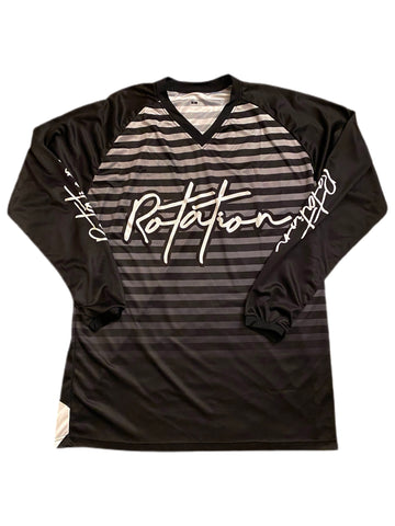 "Rotation ""Stealth"" Long Sleeve Race Jersey"