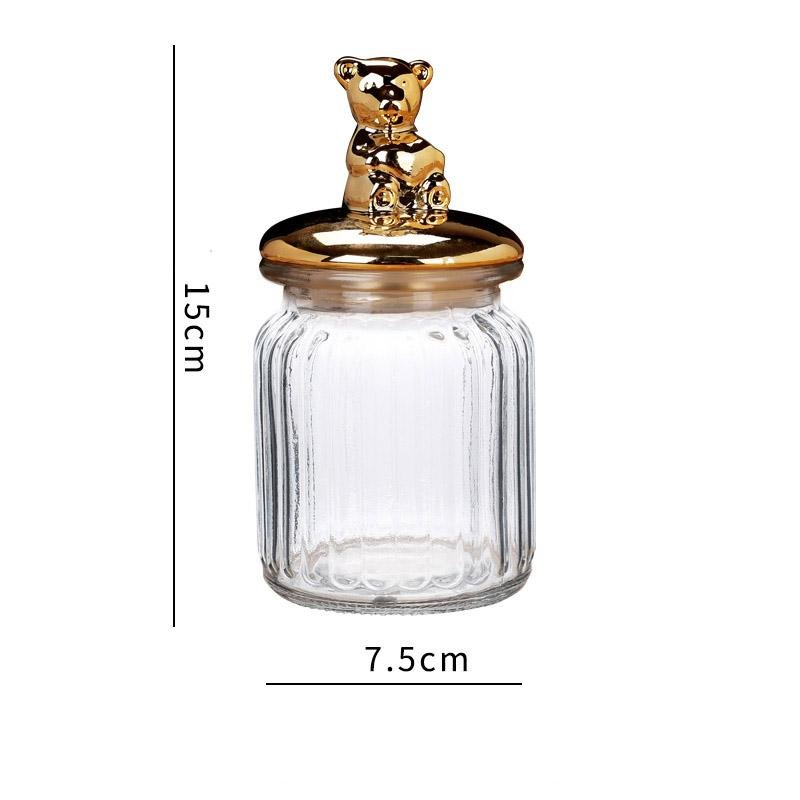 Animal Glass Storage Jar - HGHOM