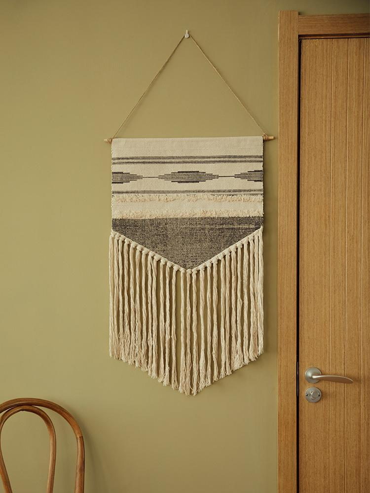 """Autumn and Winter"" Macrame Tapestry - HGHOM"