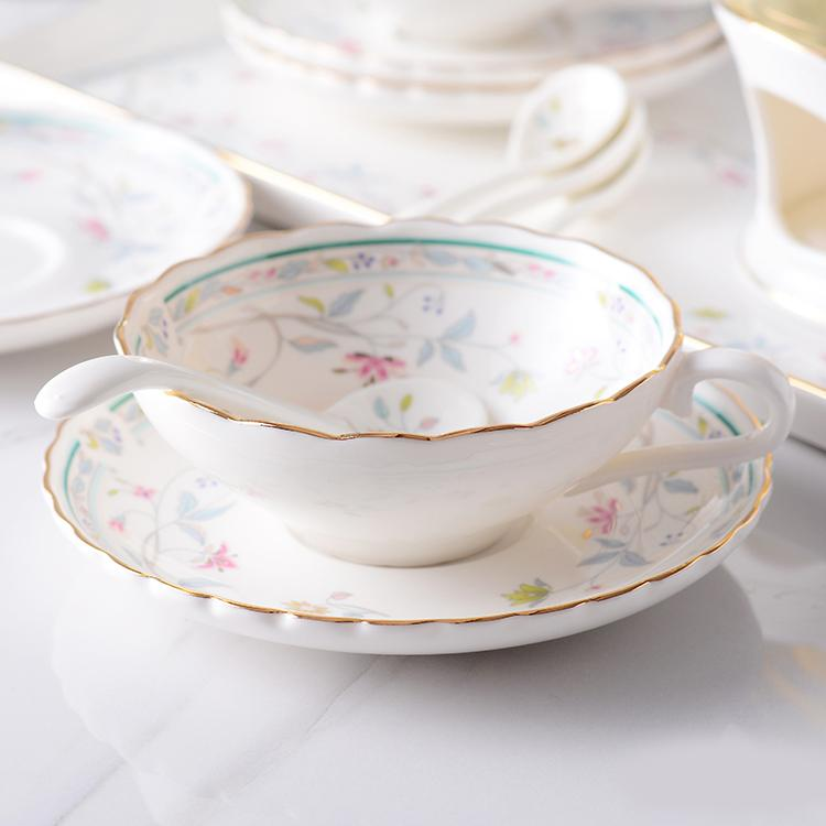 Bird & Flower Teacup Set - HGHOM