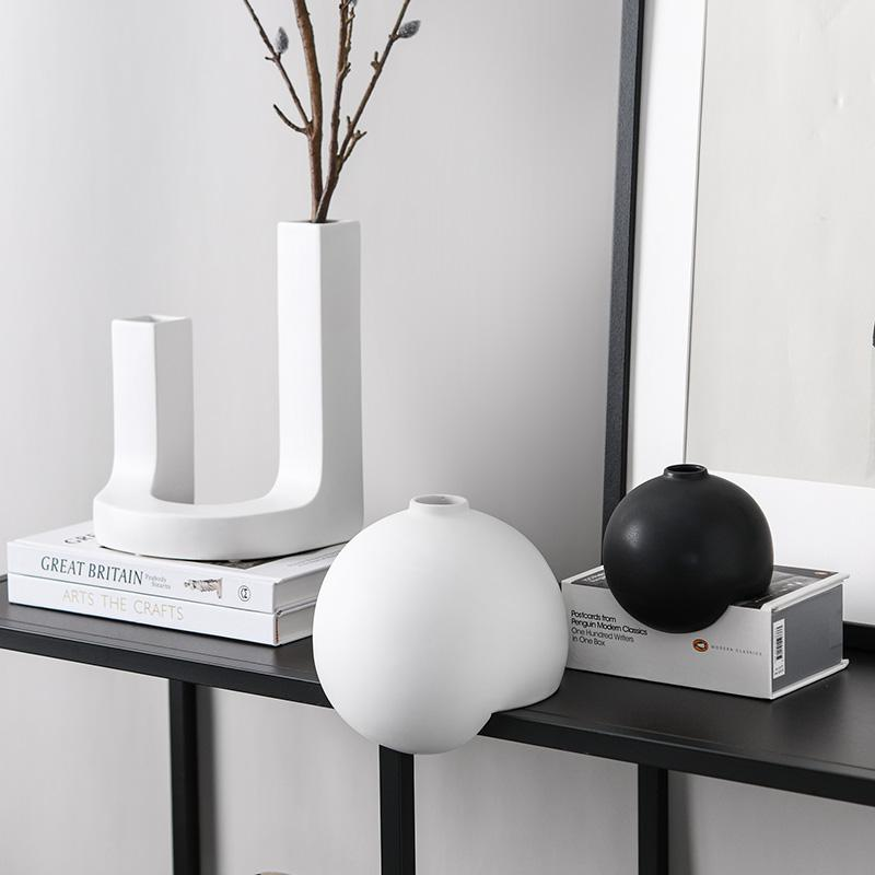 Black and White Creative Ornaments - HGHOM