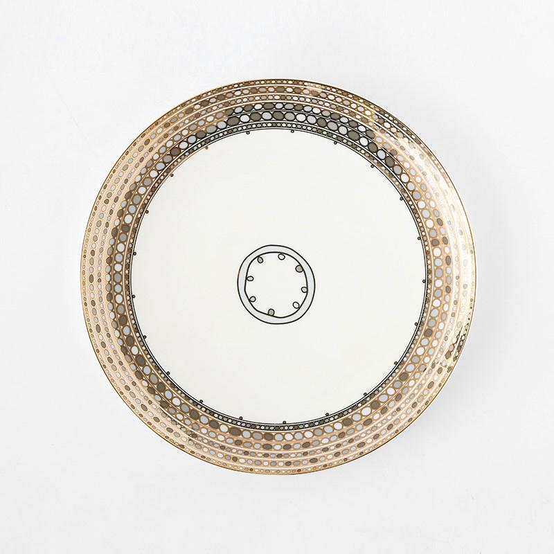 Blue Dots Dinner Plate - HGHOM
