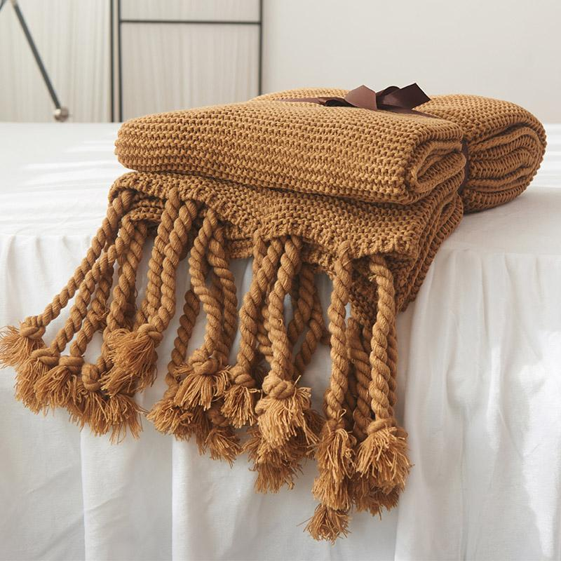 """Doto"" Knitting Blanket - HGHOM"