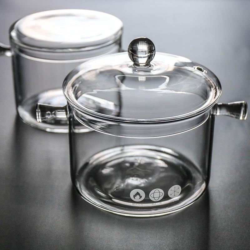 Glass Double Ear Soup Pot - HGHOM