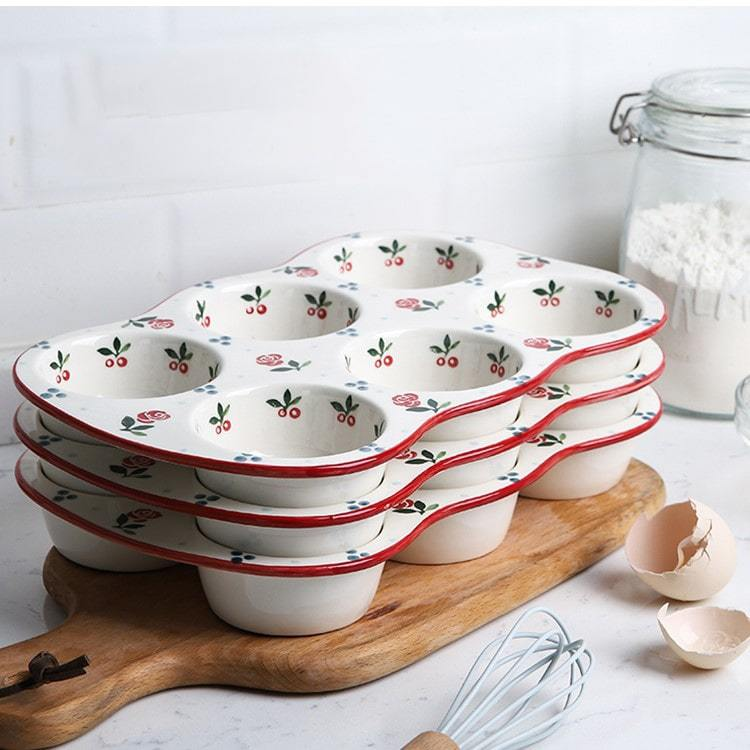 Hand Painted Pattern Cake Baker - HGHOM