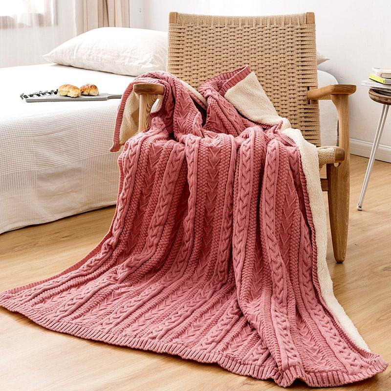 """Nesoi"" Double-Sided Blanket - HGHOM"