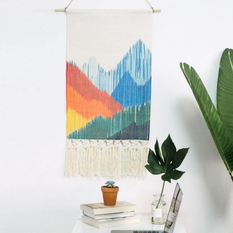 Mountain Macrame Tapestry HGHOM