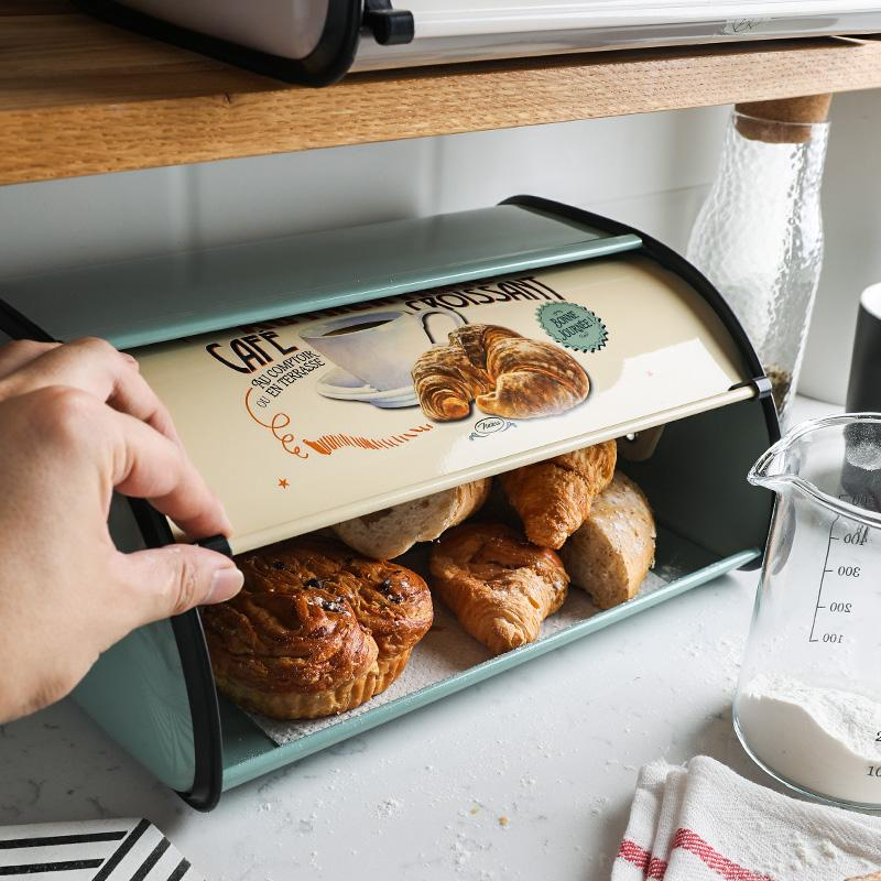 Retro Pastoral Bread Storage Box - HGHOM