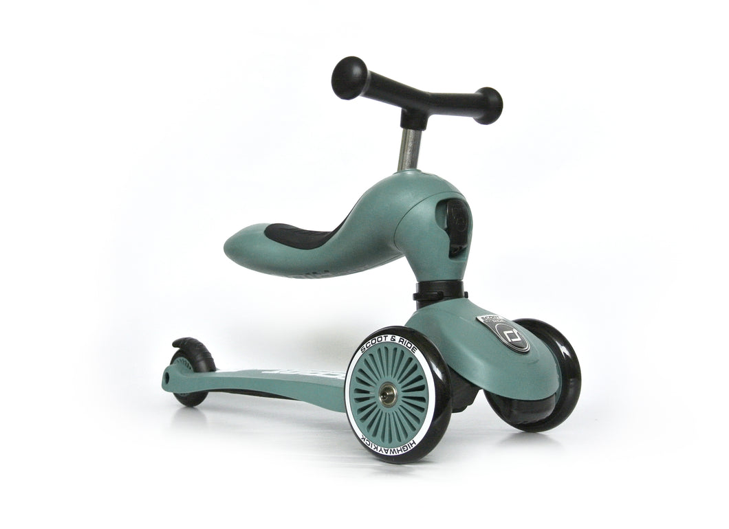 Scoot & Ride Highwaykick 1 - Forest Green