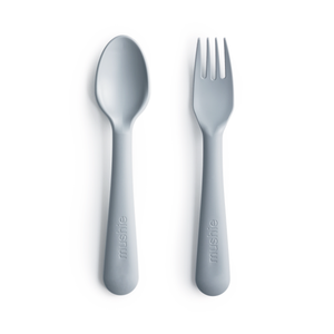 Mushie - Fork & Spoon - Cloud