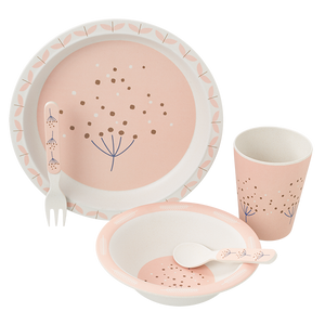 Fresk Bamboo Dinner Set Dandelion
