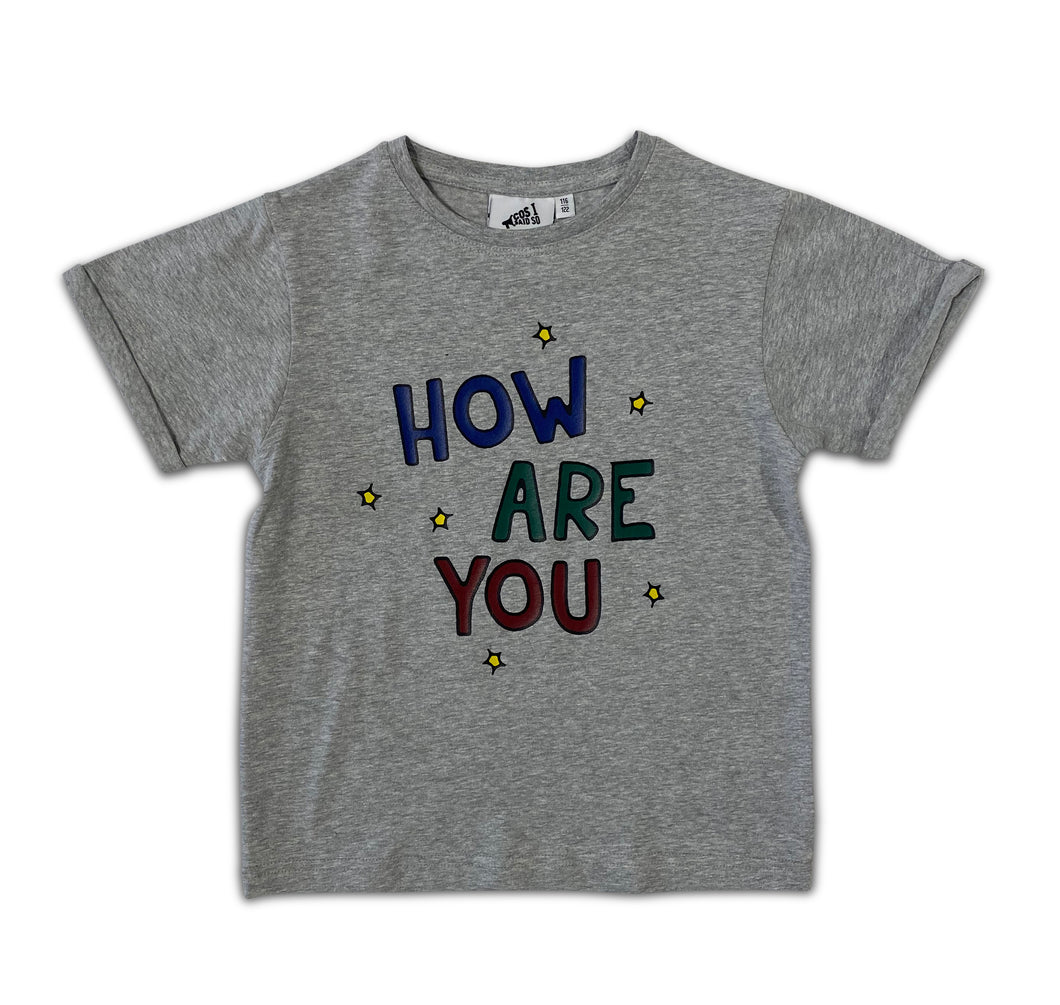 Cos I Said So - How Are You Are T-Shirt