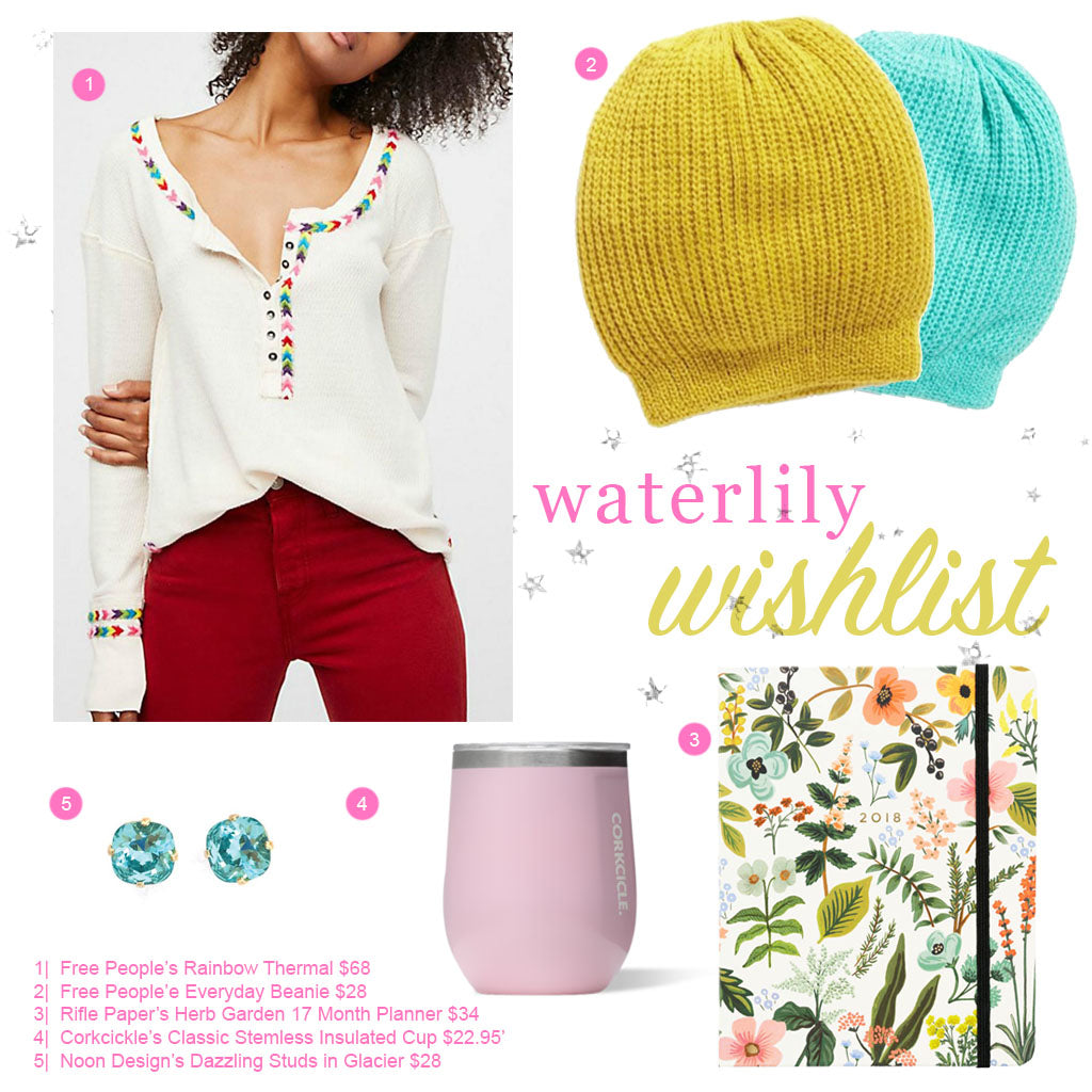 Waterlily's Wishlist 2018