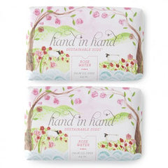 Hand in Hand Rosewater Soap