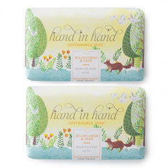 Hand in Hand Wildflower Soap