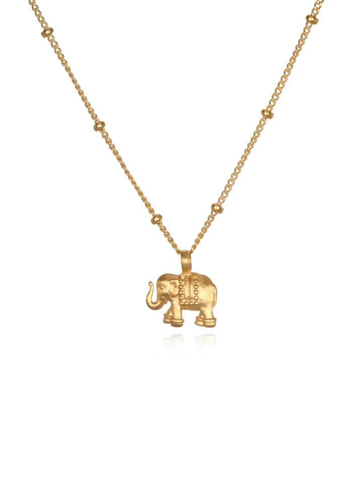 Stand in Strenth Elephant Pendant Necklace