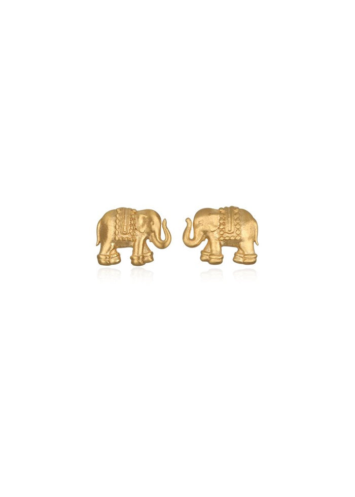 Sacred Shelter Elephant Stud Earrings