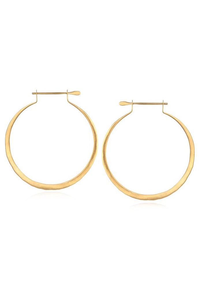 Simplicity Gold Hoop Earrings