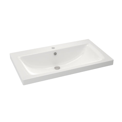 Ceramic Basin HELIOS80 - SaniQUO | The Concept Store For Your Bathroom