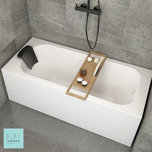 HERA Bathtub 1008, Wall to Wall sealed up. Perfect Fit HDB Bathtub. Ergonomics. - SaniQUO | The Concept Store For Your Bathroom