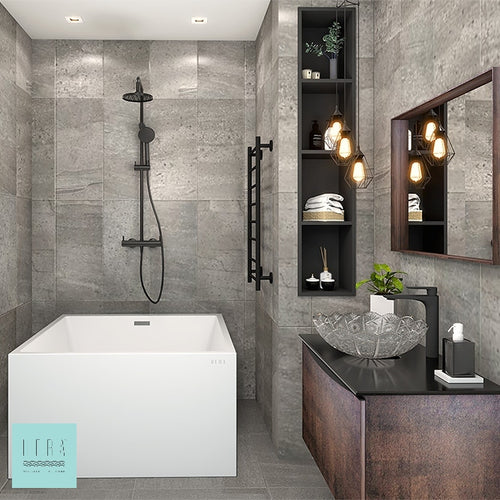 Hera Bathtub 1001  Bathtub for small bathrooms | HDB Bathtubs - SaniQUO | The Concept Store For Your Bathroom