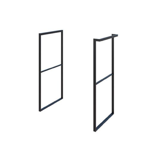 Cabinet Stand HERA7960S / HERA7920S Matt Black With & Without Towel Bar - SaniQUO | The Concept Store For Your Bathroom