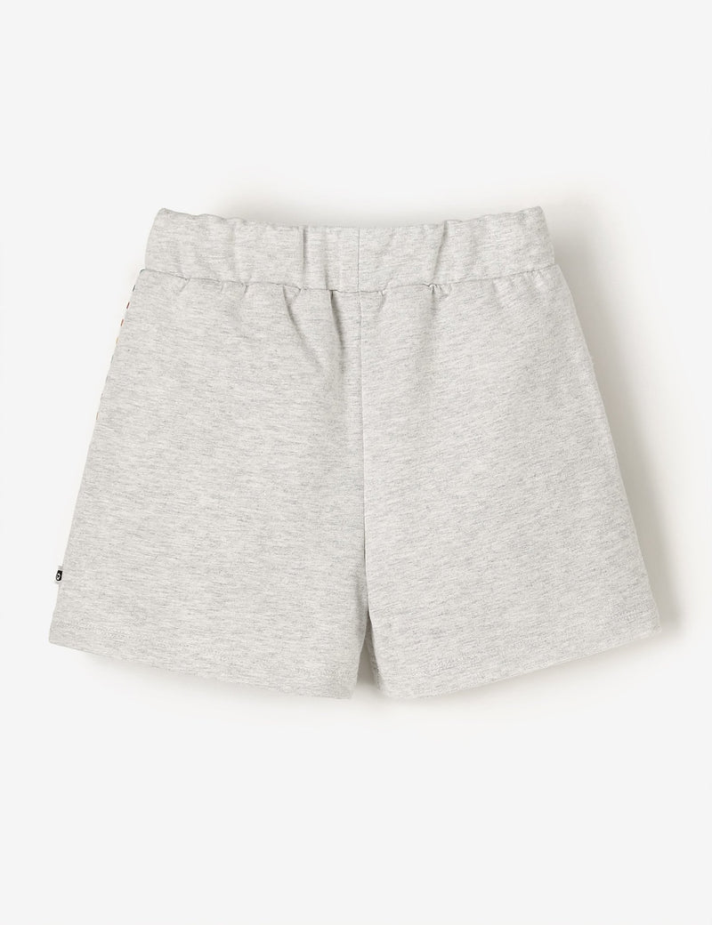 Bermuda Shorts - Grey Marl - The QT