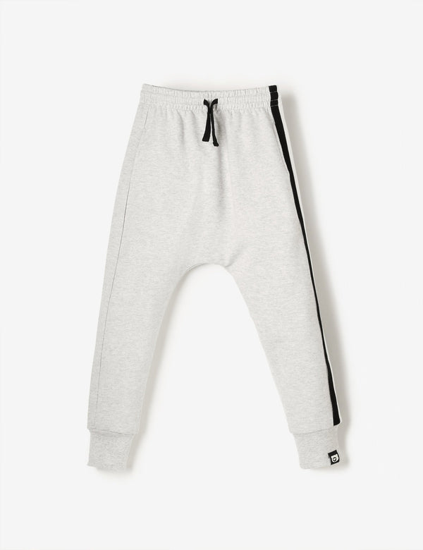 Terry Joggers - Grey Marl - The QT