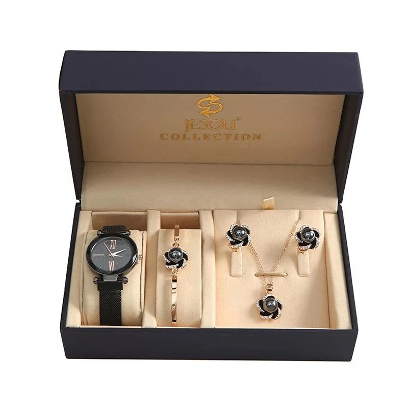 Fashion  Women Watches Set