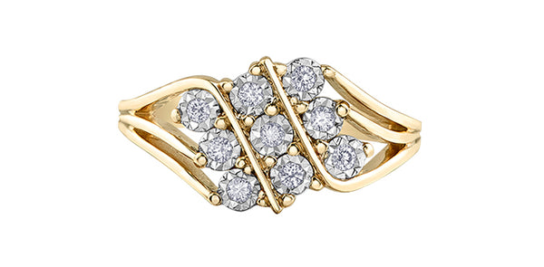 DIAMOND FANCY RING