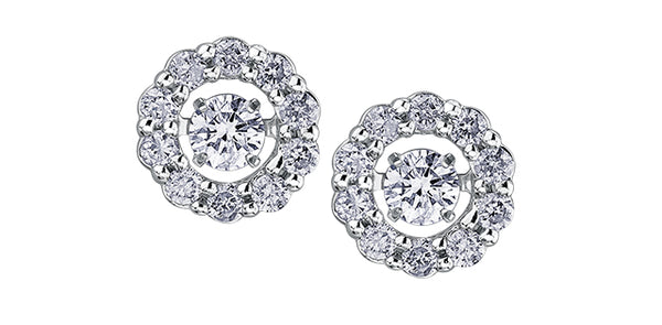 PULSE DIAMOND EARRINGS