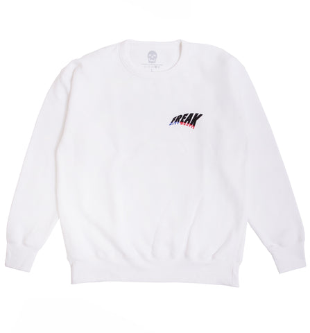 MOST WANTED CREWNECK (WHITE)