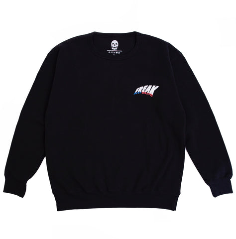 MOST WANTED CREWNECK (BLACK)