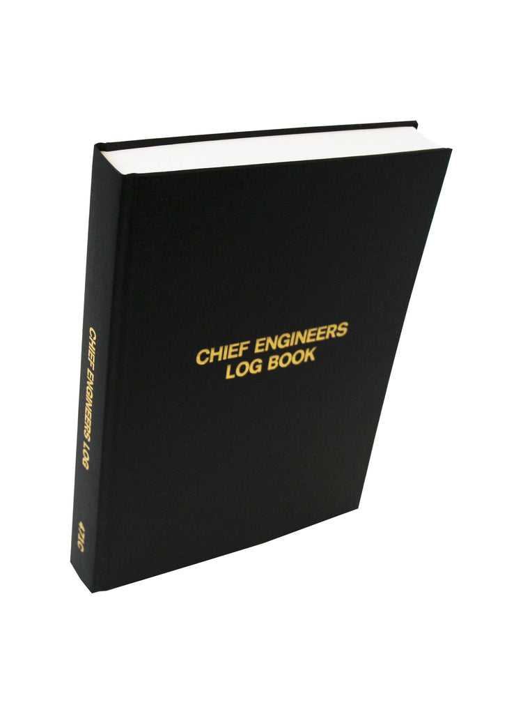 Chief Engineers (1 Shift per page) Log Book #471C