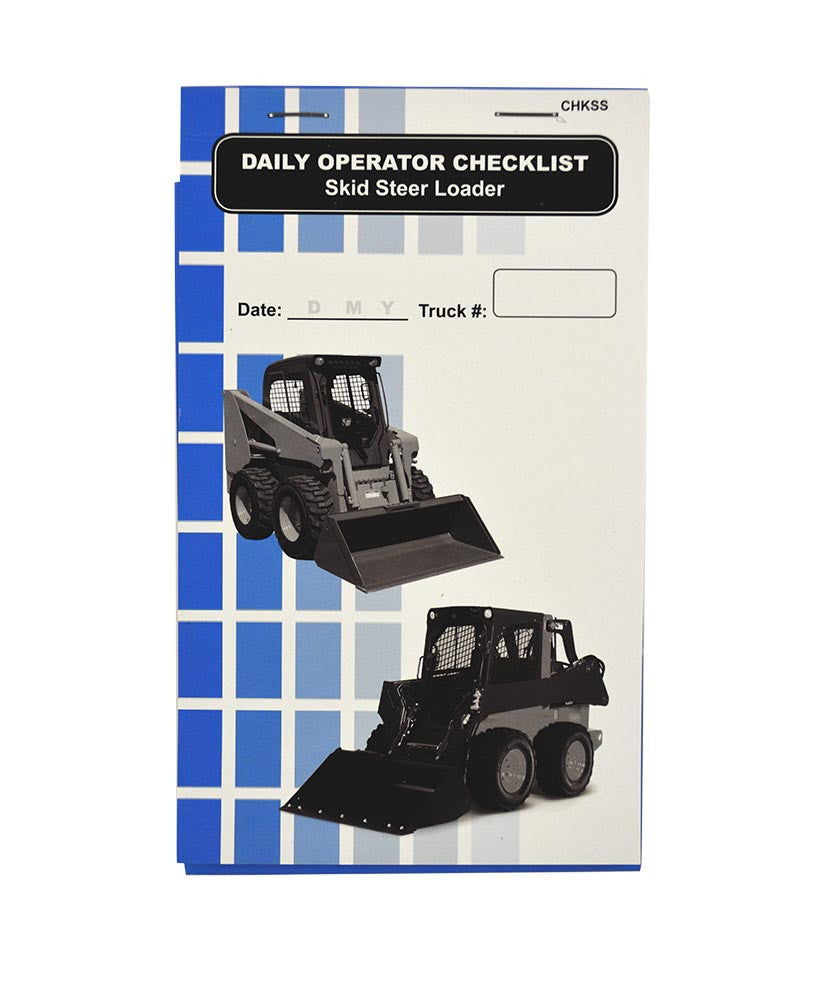 Skid Steer Loader + Checklist Caddy #SCADD(SS)