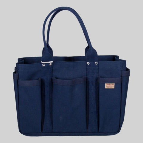 Thread-line Tokyo Heavy Canvas Tool Tote S, Navy