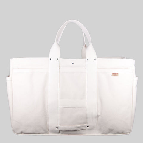 Thread-line Tokyo Heavy Canvas Tool Tote XL, White