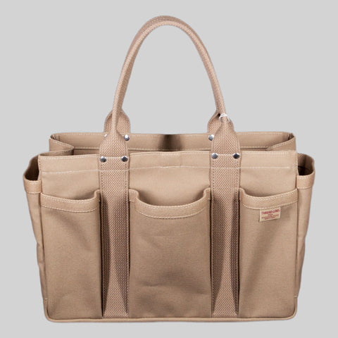 Thread-line Tokyo Heavy Canvas Tool Tote S, Beige