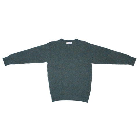 Shetland Woollen Co. Shaggy Dog Sweater, Jade