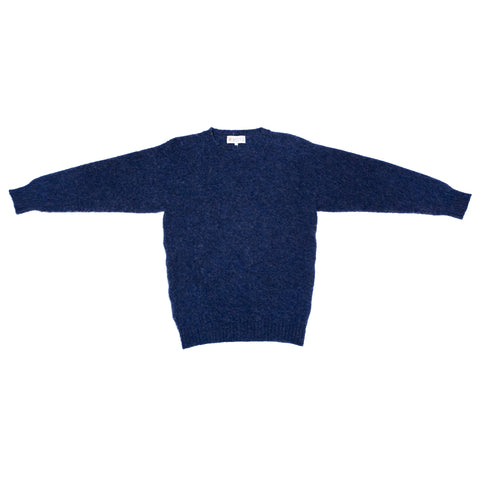 Shetland Woollen Co. Shaggy Dog Sweater, Denim