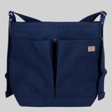 Thread-line Tokyo 2 Pockets Shoulder Bag, Navy