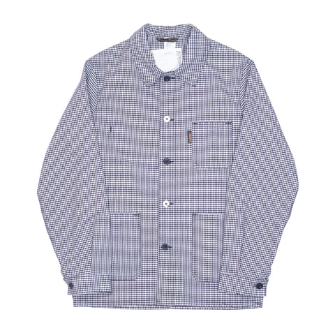 Le Laboureur Cotton Jacket, B&W Checks