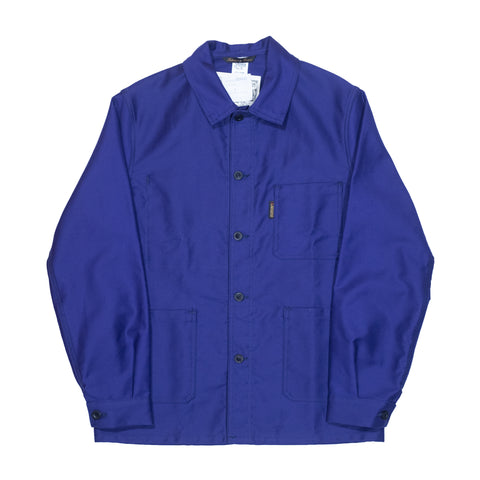 Le Laboureur Moleskin 400 Jacket, Navy