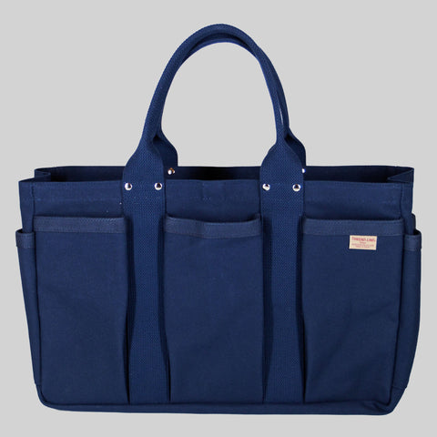 Thread-line Tokyo Heavy Canvas Tool Tote M, Navy