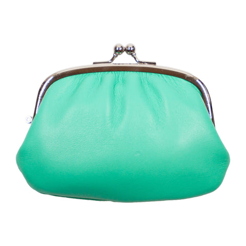 Matsunoya Leather Coin Purse, Mint