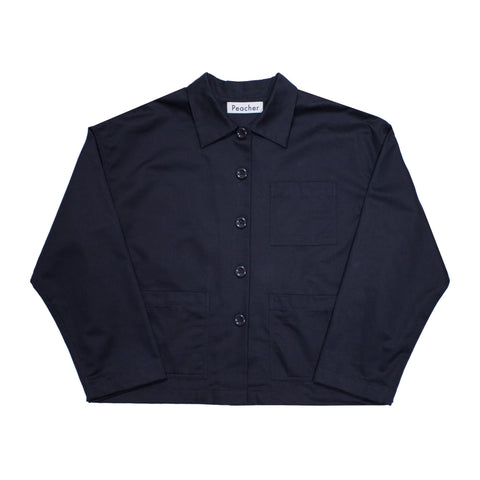 Peacher Coverall Jacket, Navy
