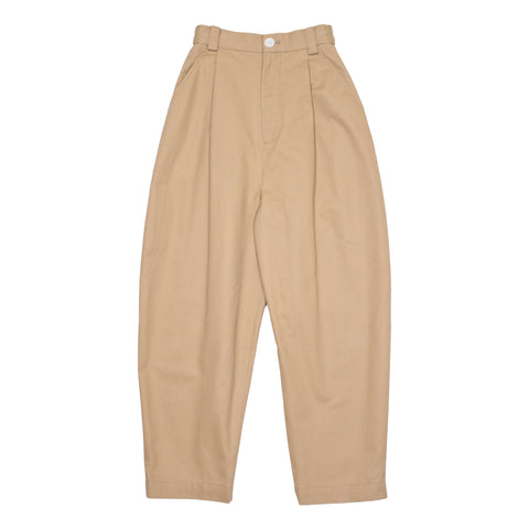 Peacher Barrel Pants, Beige