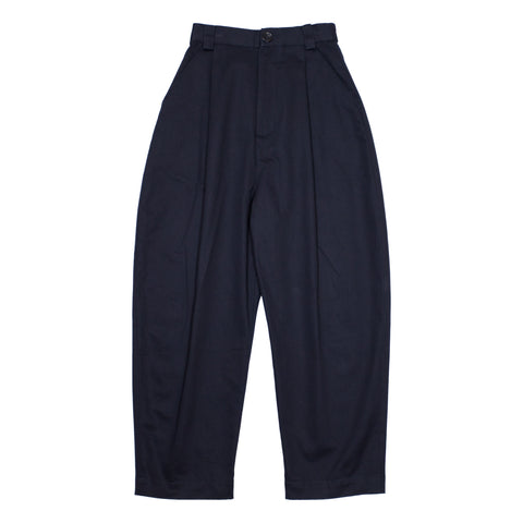 Peacher Barrel Pants, Navy