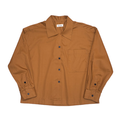 Peacher Uniform Shirt, Brown