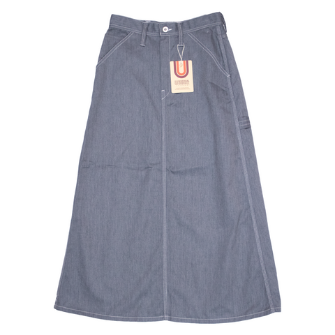 Universal Overall Painter Skirt, Gray